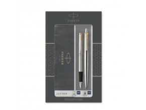 2093257 JOTTER FP BP STAINLESS GT Pack 1 v1