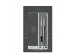2093258 JOTTER FP BP BLACK SS Pack 1 v1