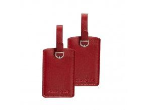 Jmenovka na kufr CO1-051 červená, 2ks