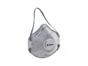 Respirátor - polomaska CM 3000, s aktivním uhlím ffp2 nr D s ventilkem