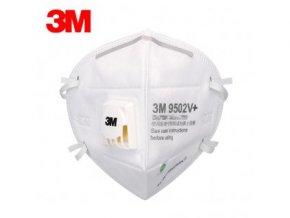 8420 3m 9502v respirator ffp2kn95 s vydechovym ventilem
