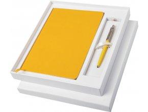 DÁRKOVÁ SADA PARKER Jotter se žlutým zápisníkem a kuličkovým perem 10742403
