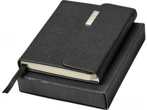 Luxe Sonata kapesní zápisník Luxe, Barva černá sytá 10743800
