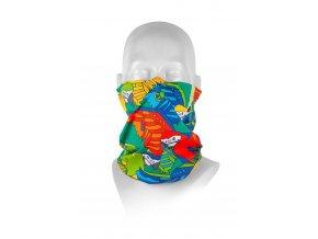 Respilon dětský nákrčník R shield light Parrot s protivirovou Nano membránou