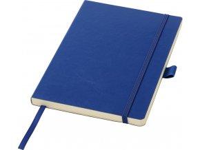Zápisník z PU kůže A5, modrý