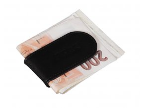 Moneyclip černá