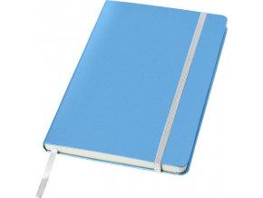 Zápisník Classic A5, světle modrá
