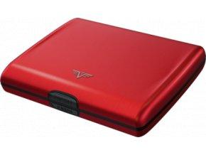 Tru Virtu hliníková peněženka Papers & Cards RAY - Red Pepper (červená)