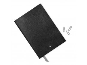 Montblanc Fine Stationery Notebook 146 Black lined 3