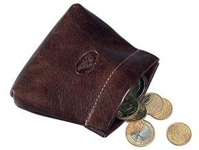 Peněženka na drobné Tony Perotti 1615, tm. hnědá