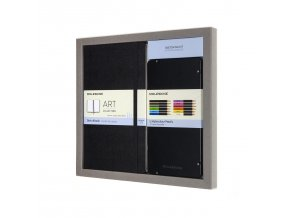 COLOURING KIT SKETCH BOOK AND WATERCOLOUR PENCILS 1