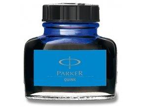 Parker Blue, modrý lahvičkový inkoust