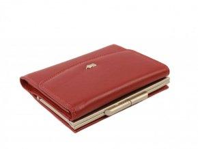 Stylová dámská kožená peněženka Braun Büffel - červená