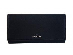 Luxusní peněženka Calvin Klein černá - dámská