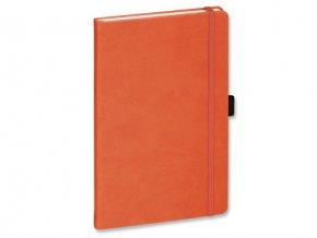 LANYO II oranžový poznámkový zápisník