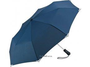Automatický deštník s LED svítilnou - modrý