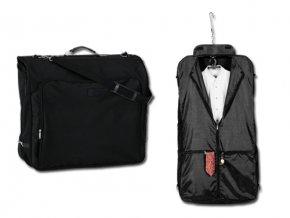 OMAR BAG polyesterový vak na šaty, 600D, černá