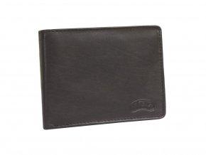 Pánská kožená peněženka Nivasaža N15-MTH-BR hnědá