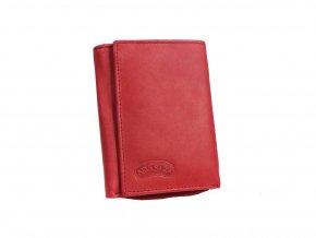 Dámská kožená peněženka Nivasaža N57-MTH-R červená