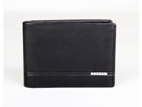 Kožená peněženka Cross Classic Century Leather Slim Bifold Black