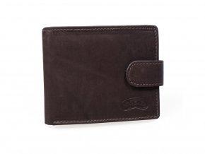 Kožená peněženka Nivasaža N19-MTH-BR hnědá