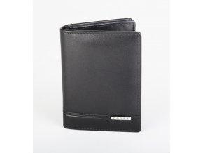 Kožený vizitkář (peněženka) Cross Classic Century Leather Folded ID Black