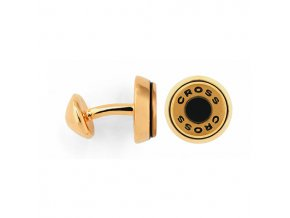 Cross manžetové knoflíčky Conical Gold