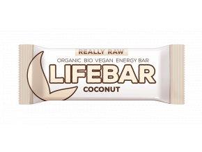 lifebar raw vegan bio tycinka lifefood kokosova