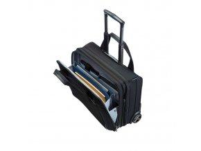 Samsonite Kabinový kufr Spectrolite Rolling Tote 17' Expandable 80U-010 černá