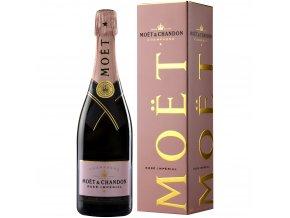 Moët & Chandon Rosé Impérial Brut 0,75 l v dárkovém balení