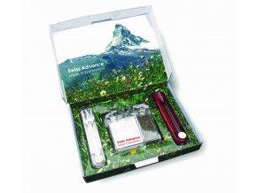 Swiss Advance Dárkový set na cesty - vidlička, nůž, slánka, pepřenka