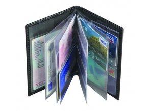 Pouzdro na doklady a karty Albig, černé