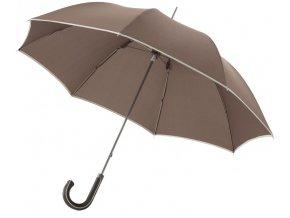 Balmain automatický deštník 23 palců, hnědý