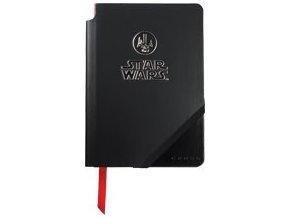 Cross linkovaný zápisník Jot Zone Medium STAR WARS Darth Vader Black/Red