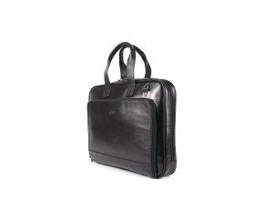 Pánská kožená aktovka Tony Perotti  černá