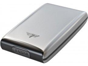 Tru Virtu Credit Card Case - stříbrná