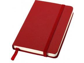 Kapesní zápisník Classic, červený