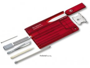 Victorinox SwissCard Quattro červená