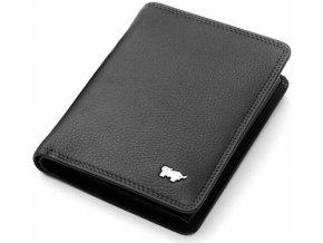 Braun Büffel kožené pouzdro na kreditní karty, černé 90446-051