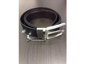 Kožený oboustranný pásek Blažek black/brown, 120cm