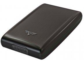 Tru Virtu hliníkové pouzdro Credit Card Case - černá