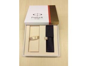 Dárková krabička Parker s černým pouzdrem