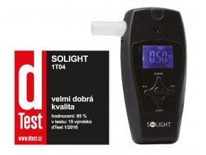 Solight alkohol tester profi, 0,0 - 3,0_ BAC, citlivost 0,1_, barevný displej, automatické čištění