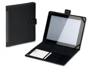 TABLETO obal na iPad z imitace kůže s bločkem