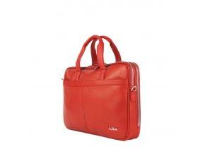 Kožená taška na spisy Tony Perotti 7044 červená