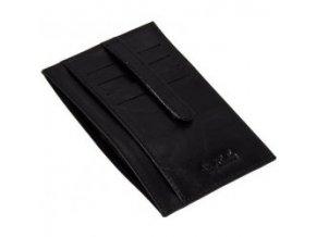 Kožené pouzdro na doklady a karty Tony Perotti 1203-černá