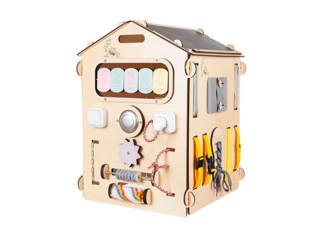 BusyKids House Pastel Natura Activiry Board - Limited Edition