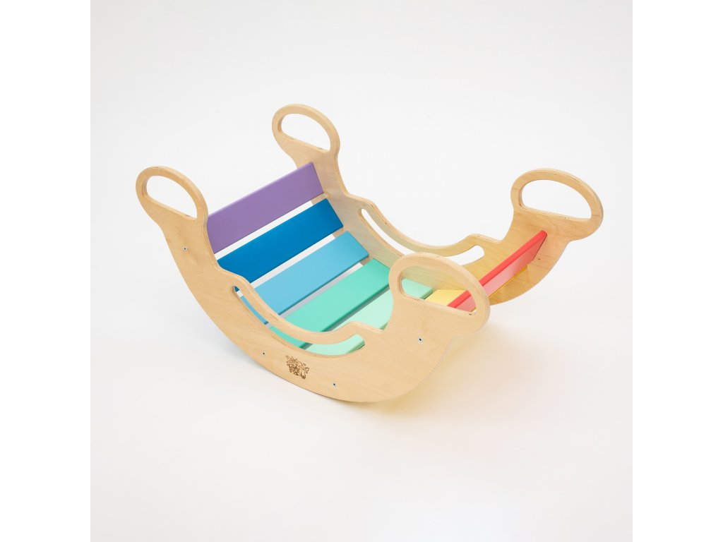 The Multifunctional 5-in-1 Montessori Swing BusyKids