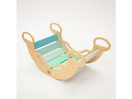 The Multifunctional 5-in-1 Montessori Mint Swing BusyKids