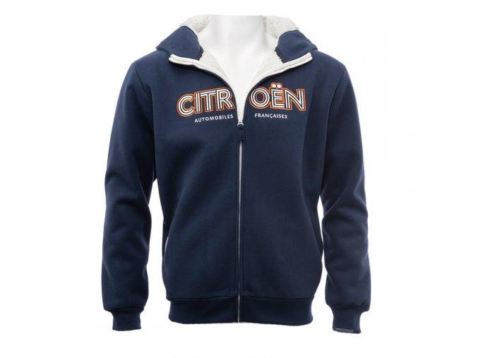 382 sweat shirt citroen origins hoody homme bleu marine 1